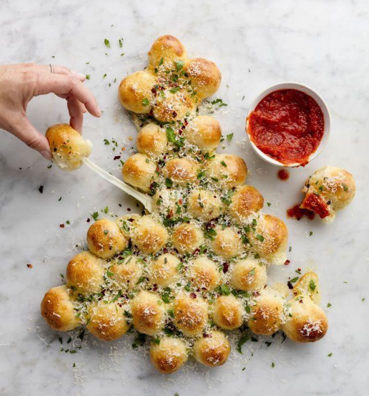 Arbre de Noël fromagé