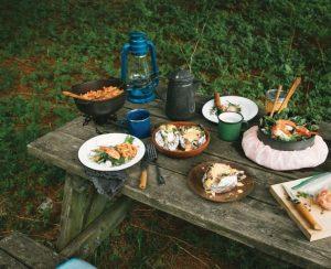 Manger en plein air
