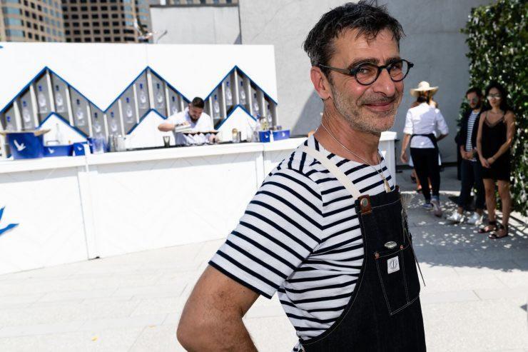 Chef Christophe Dufau