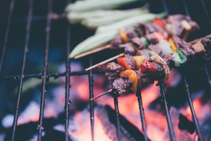 Cuisiner sur le grill