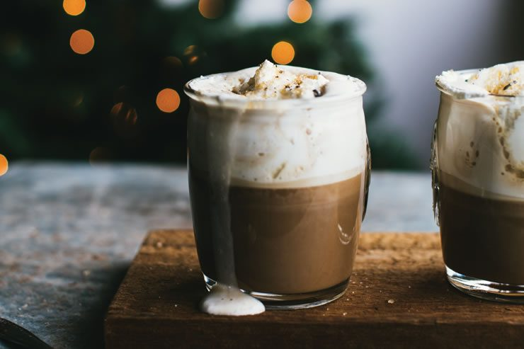 Café à la crème d'érable