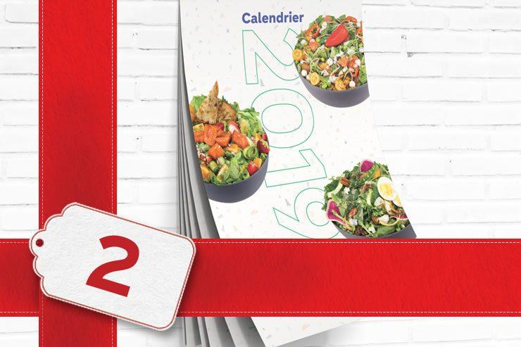 Calendrier de salades