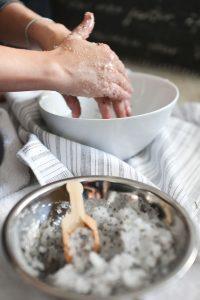 Exfoliant à la lavande