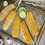 Doigts d'ananas caramélisés