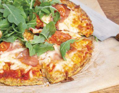 Pizza de chou-fleur