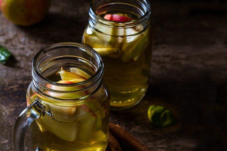 Cidre de pommes maison