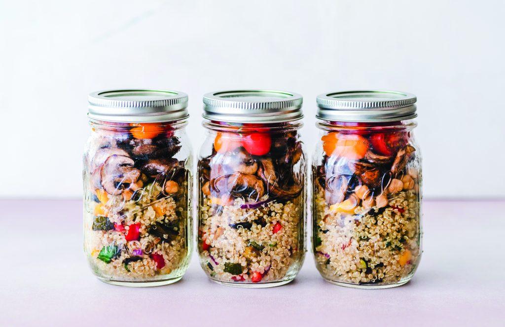 Les salades repas - Pot masson