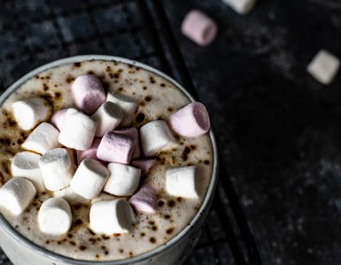 Chocolat chaud + guimauves
